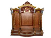 Teak wood Hand Carved Temple