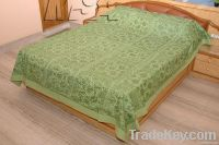 Embroidery and Mirror Work Bed Cover
