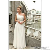 Hot sale white charming wedding dress
