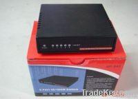 Desktop Ethernet switch, 10/100 Mbps, 5 ports