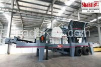 Wheel Mounted Mobile Jaw Crusher