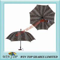 Multifunction Stick Umbrella with LED Light, Alarm and Radio