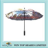 One Piece Canopy Digital Printing Umbrella