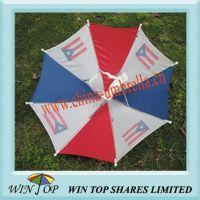 12 inch Hat Umbrella, Cap Umbrella, Head Umbrella