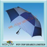 Auto 2 Folding Durable Golf Umbrella