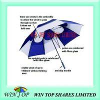 Windproof and Sunproof Anti Wind Golf Umbrella
