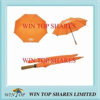 Advertising Orange Golf Umbrella for Land Rover