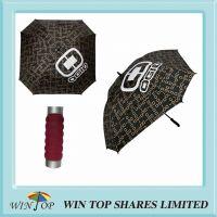 Arc 68 inch, Radius 34 inch Auto Square Luxury Golf Umbrella
