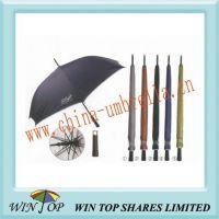 "29"" Black Ad Rain Shade Golf Umbrella"