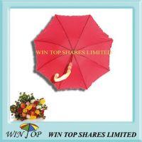 Genuine Bamboo Handle Ladies Umbrella