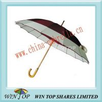23 inch Manual Straight Wooden Umbrella Production