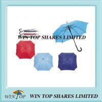 23 inch Auto Straight Wooden Rectangle Umbrella