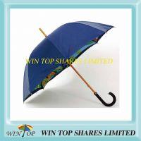 Tropical Stylish Luxury Manual Wood Umbrella