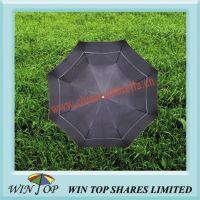 23 inch 2 Fold Manual Windproof Umbrella