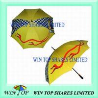 F1 Formular 1 yellow Advertising Golf Umbrella