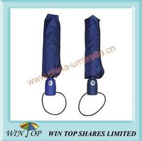 Auto open and close 3 folding Fare umbrella
