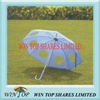 Hand Open Straight Stransparent EVA Umbrella (WTP023)