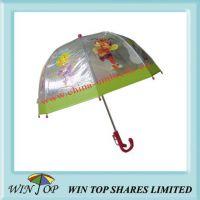 15.5 inch Children Translucent Cartoon Umbrella