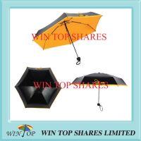 Popular 5 folding UVA UVB proof super mini pocket umbrella