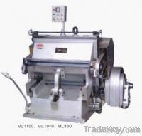 Flaten Creasing and die Cutting Machine