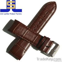 Hot selling Elegant Crocodile Genuine Leather Watch Strap
