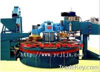 Terrazzo floor tile making machine