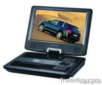 "9""Portable DVD player"