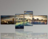 Landscape canvas prints 4panels