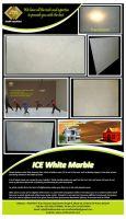 Ice White Marble Flooring