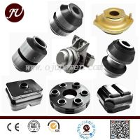 high quality metal rubber bushing for shock absorber used for central traction system