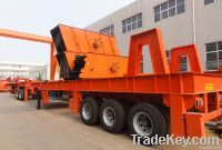 Aggregate mobile crusher