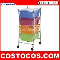 Multi-Color X-Frame 3 - Drawer Trolley (Storage Cart)