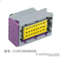 24pin male and female waterproof auto connectors