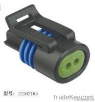 3pin black female car connector