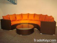 Semicircle PE Rattan Home Furniture C498