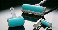 Brush washable lint roller