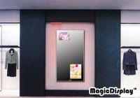 Advertising LCD Mirror with IR Sensor