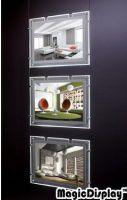Crystal LED light box Kit  3in1