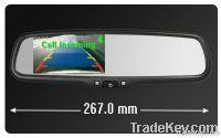 4.3 inch bluetooth reverse camera display monitor | handfree car kit