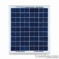 15Watt poly crystalline solar panels