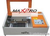 Maxpro laser rubber stamp engraving machine
