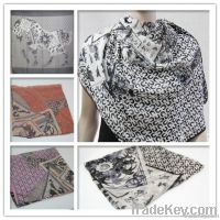 Exporter rectangle scarf--GEORGETTE/CHIFFON