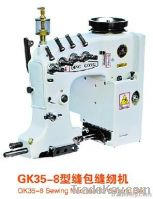 Double needles Four Threads Bag Sewing Machine