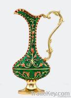 Metal flower vase flower bottle