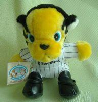 stuffed tiger toy