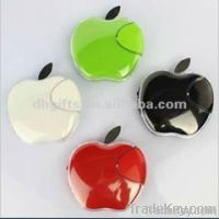 Apple shape mini portable retractable vibration sticker speaker