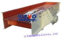 Ore vibrating feeder machine