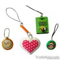 2012 New Design hot sale Mobile phone or Cell Phone straps and Charms