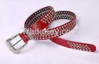 TX0820 western women belt fashion stone belt