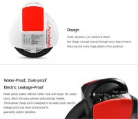 Promotional 2014 New smart electric unicycle self balancing scooter one wheel car Outdoor Sports children toy single vehicle